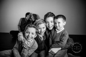 © De gezinsfoto's zijn genomen door Fotografie Marc Vanraes