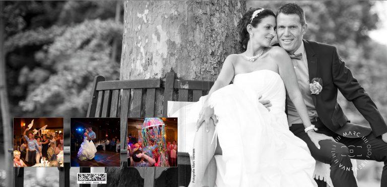 © De trouwfoto's zijn genomen door Fotografie Marc Vanraes-1