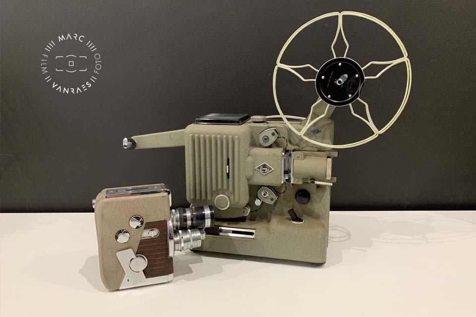 Digitaliseren van video en film door fotografie Marc Vanraes