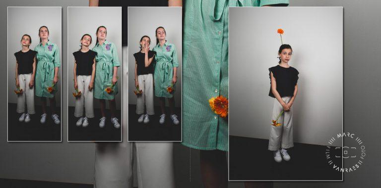 Dit mooie communie-of lentefeestalbum van Fien door Fotografie Marc Vanraes