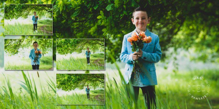 Met dit mooie professionele communie-of lentefeestfoto's van Toby ga je Peter en Meter beslist blij maken en nog vele andere natuurlijk.